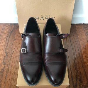 Men's Testoni Burgundy shoes